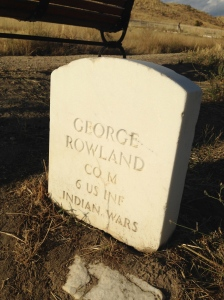 Rowland Grave Marker